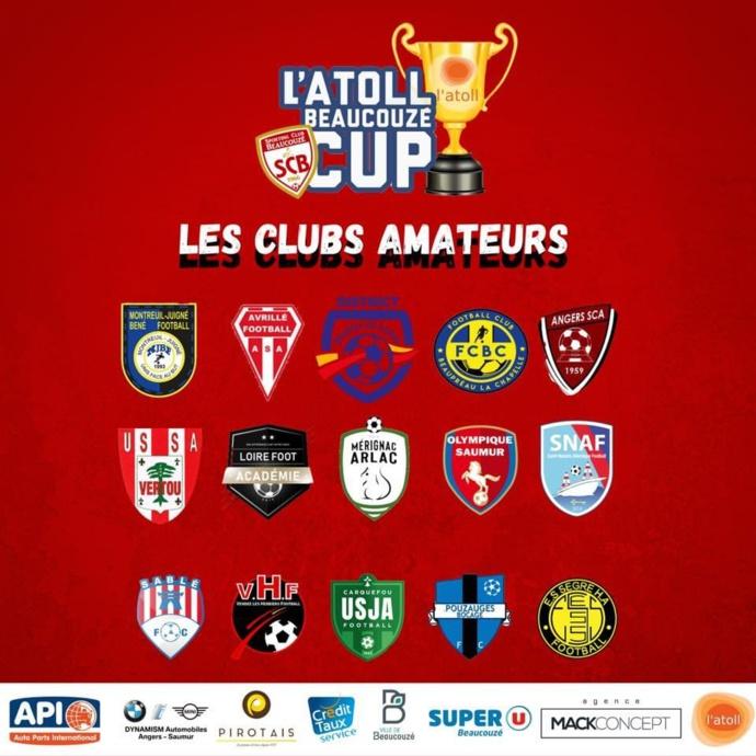 L'ATOLL Beaucouzé Cup 2021, les équipes