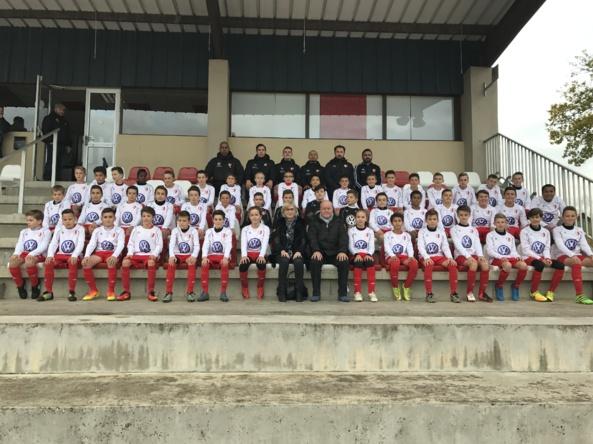 U13. Groupe BOUCHER VOLKSWAGEN nouveau partenaire maillots