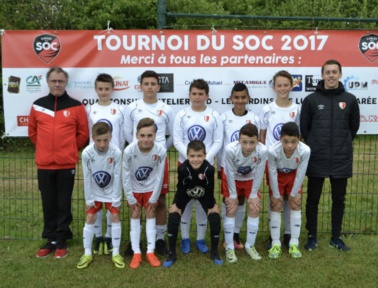 U13. Bon résultat au tournoi du Cholet SO du 07 mai 2017