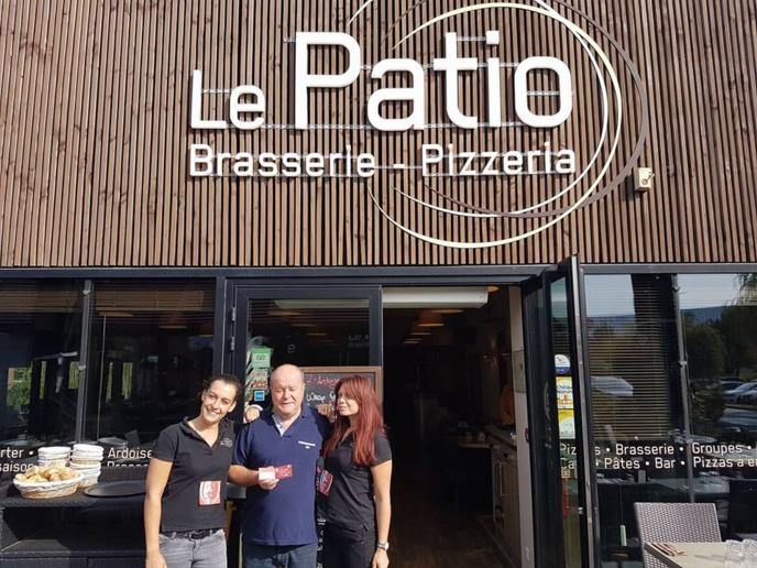Nouveau partenariat entre le SCB et le PATIO Brasserie-Pizzeria !