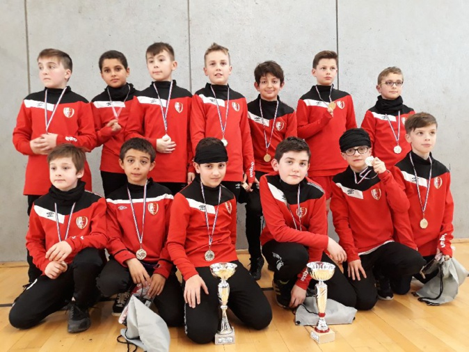 U13/U11. Tournoi Futsal de Ste Gemmes sur Loire
