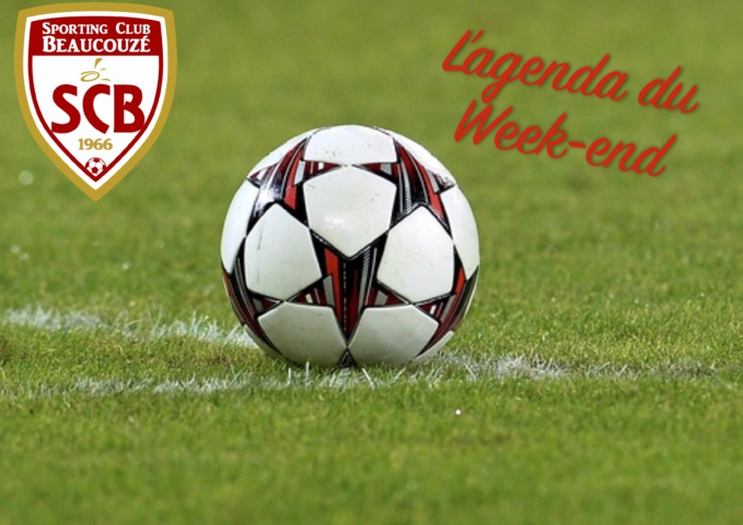 Agenda du week end 03 et 04 novembre 2018