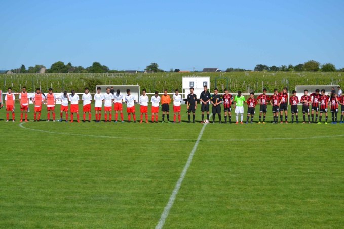 Finale de la coupe de l'Anjou U15 en images