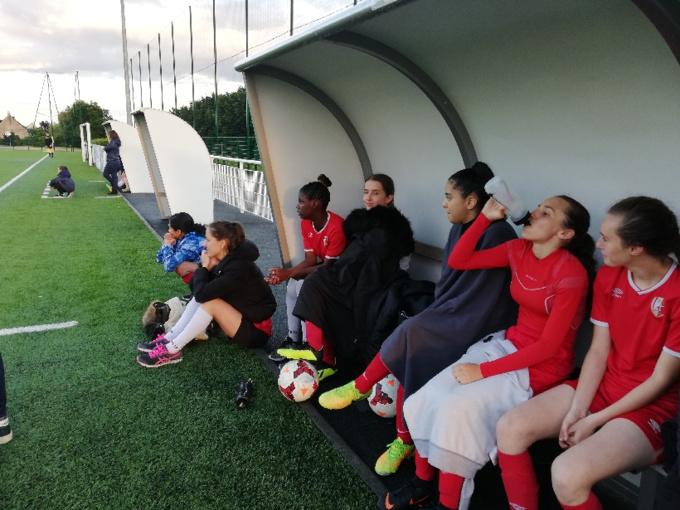 Féminines. Premier match pour notre nouvelle équipe séniors
