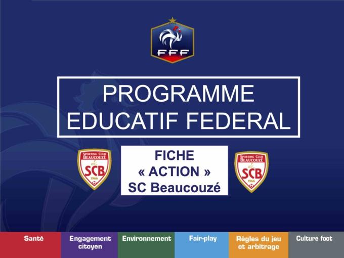 PEF : Culture Foot en U13