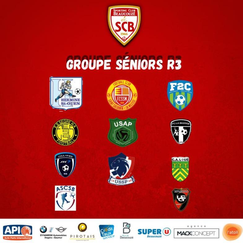 Séniors. Les groupes officiels pour la saison 2021/2022