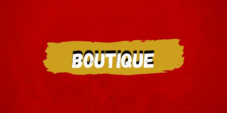 Informations Boutique !