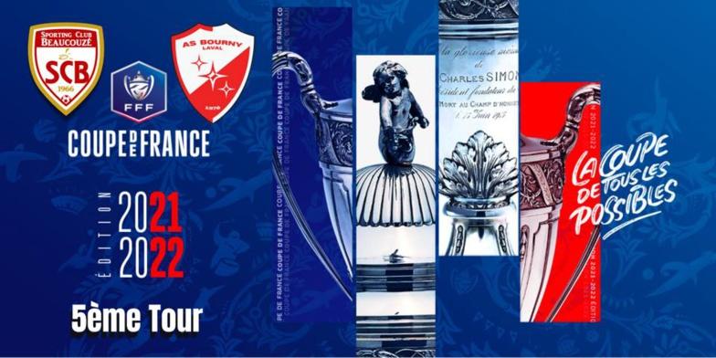 Beaucouzé recevra Laval Bourny (R1) au 5e tour de la Coupe de France