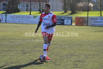 Stéphane Chovet (ici en amical contre Laval Bourny) peut officiellement jouer avec le SC Beaucouzé.