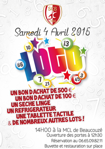 Super Loto / Soirée Bretonne, Samedi 04 Avril 2015
