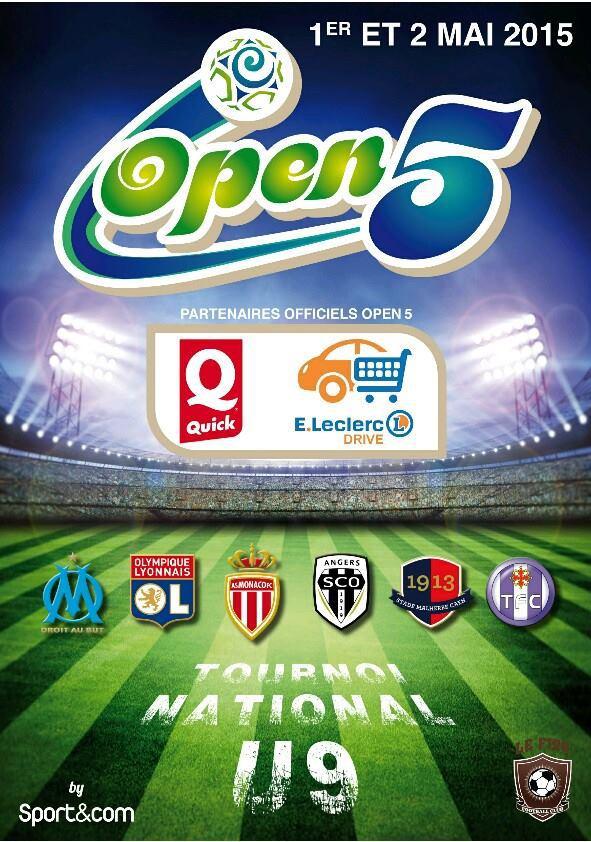 Open Five Quick. Beaucouzé avec l'Olympique Lyonnais !