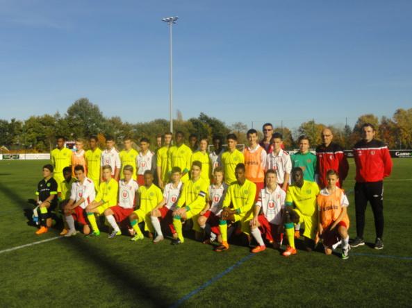 U15 vs FC Nantes