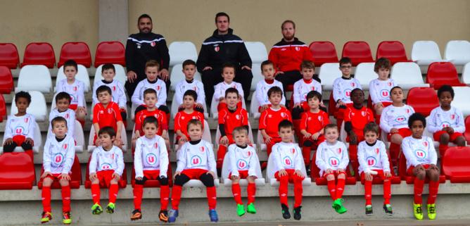 L'équipe U9 du SC Beaucouzé