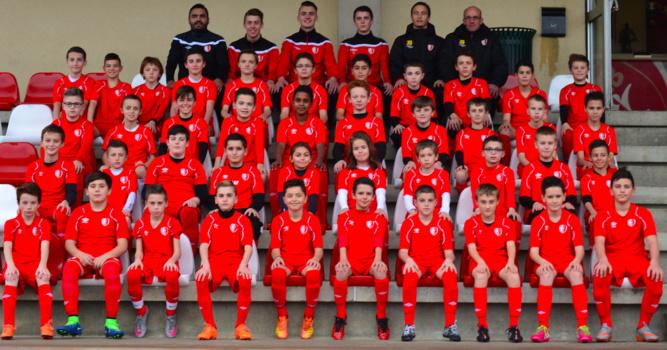 L'équipe U13 du SC Beaucouzé