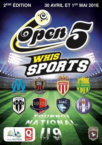 U9. Avec Le Havre AC à l'Open Five Whis Sports