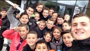 Jour 3. Stage de Pâques, direction le centre d'entrainement d'Angers SCO