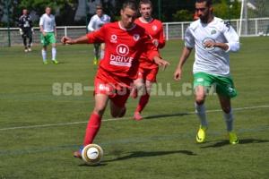 Nicolas Guédon sous les couleurs du SC Beaucouzé.