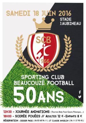Le 18 juin prochain le club fêtera son demi-siècle d'existence !