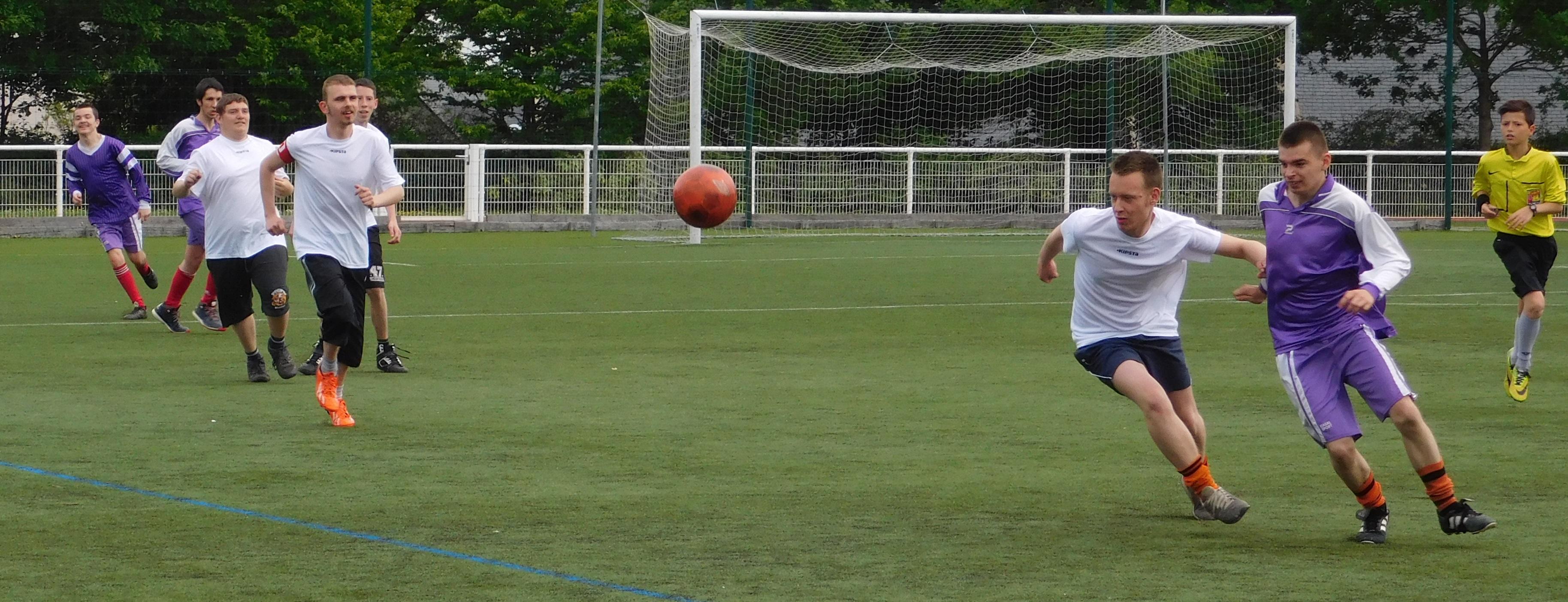 Manifestation. Challenge Jeunes Footballeurs sport adapté ce mercredi