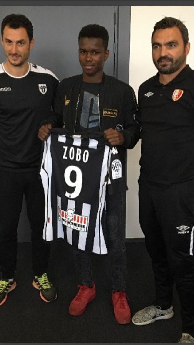 Mercato. Junior Zobo (U17) rejoint l'aventure Angers SCO !