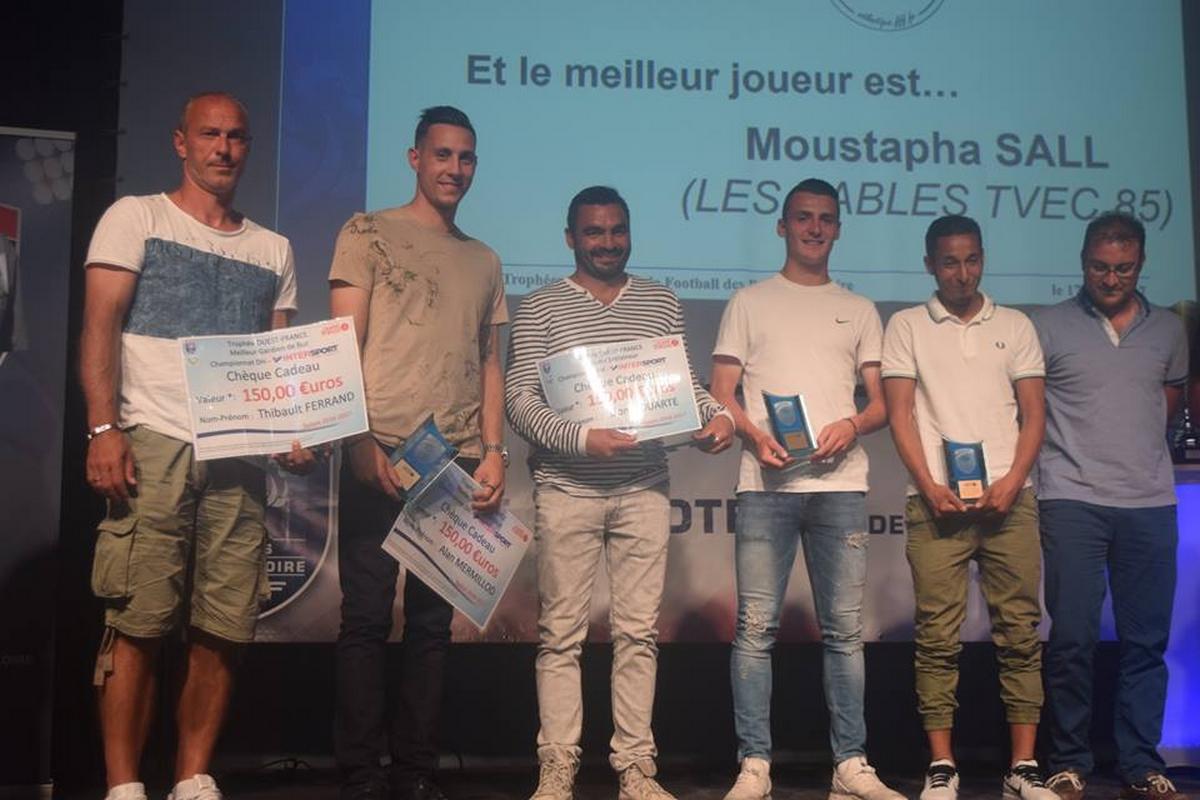 Trophées Pays de la Loire. Un triplé exceptionnel !