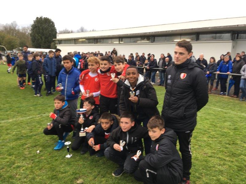 U13. Victoire au tournoi de Oudon (44) pour nos U12