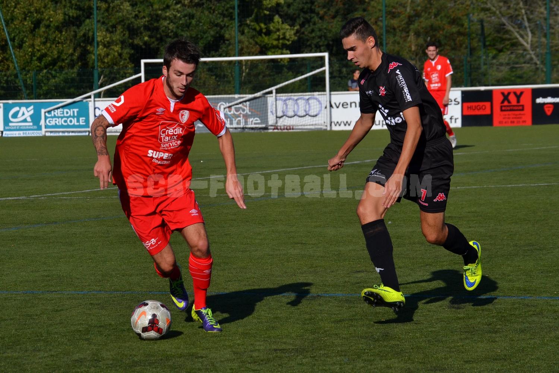 Antoine Goblet (à gauche) portera de nouveau le rouge et blanc.