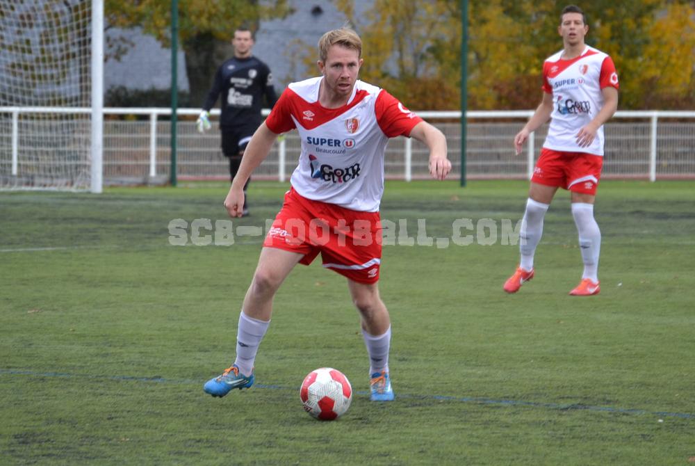 Malgré l'ouverture du score de Brieuc Rialland, le Sporting n'aura pas réussi conserver son avantage (Photo archives SCB)