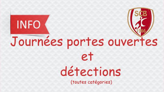 """Journées """"Portes Ouvertes"""" et """"Détections"""""""