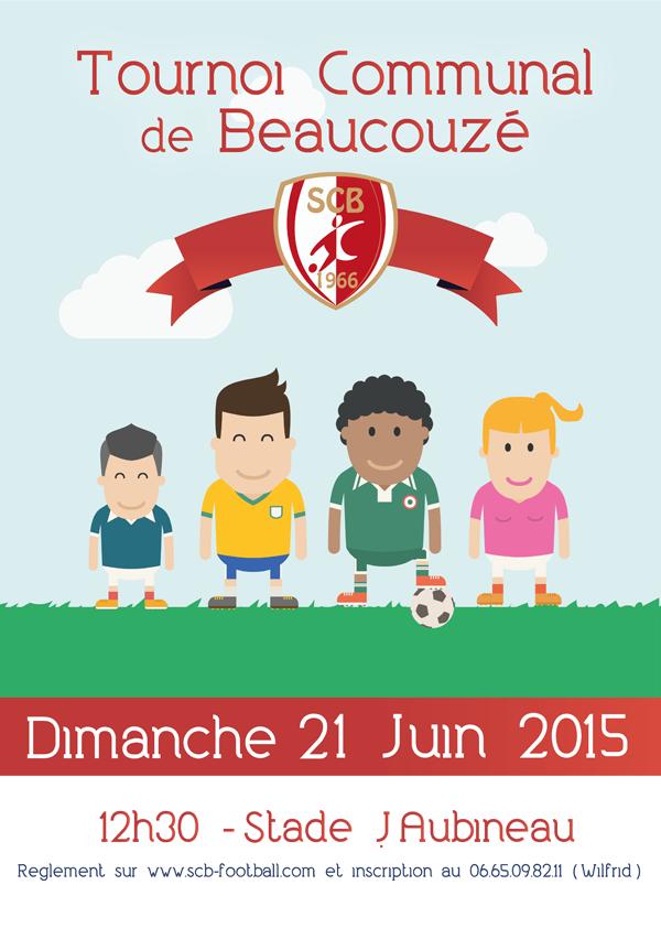 Tournoi Communal de Beaucouzé, Dimanche 21 Juin