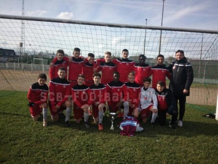 U15. Le SCB remporte le tournoi des Restos du Coeur