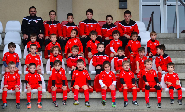 L'équipe U7 du SC Beaucouzé