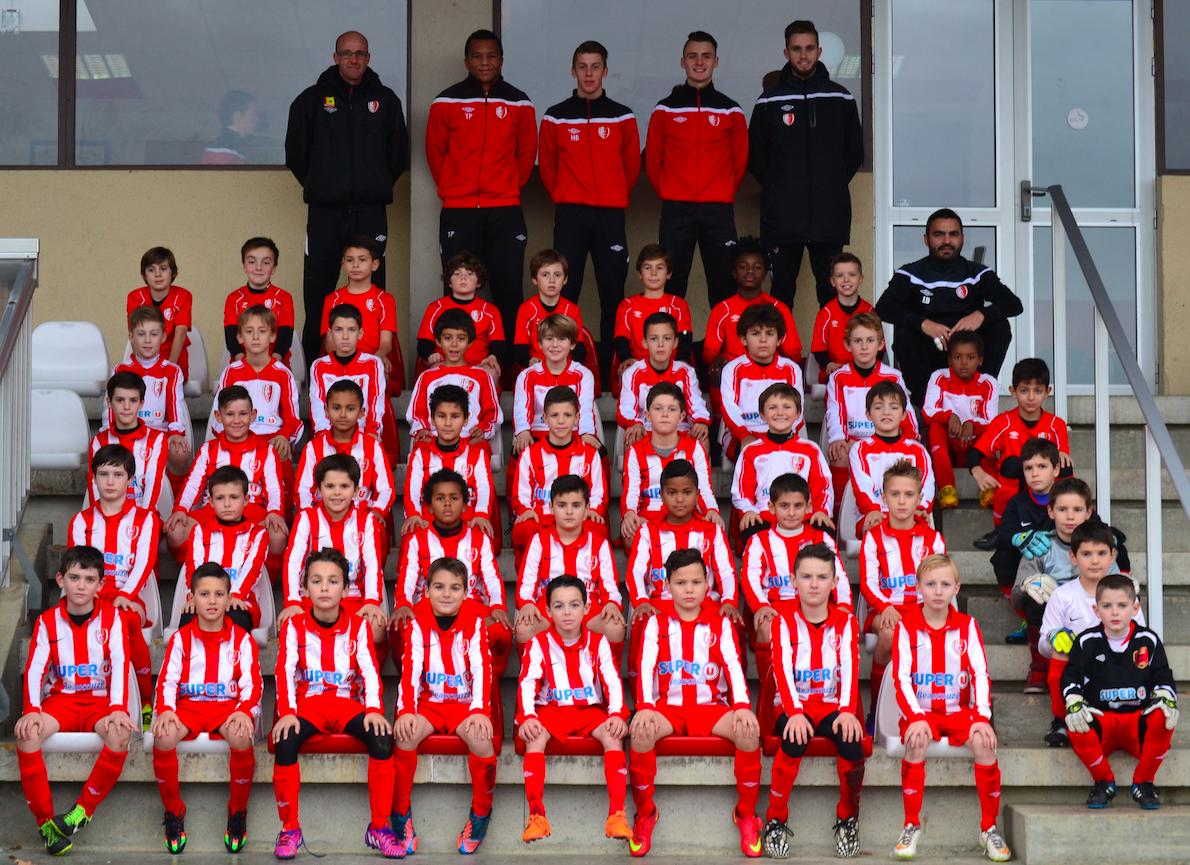 L'équipe U11 du SC Beaucouzé