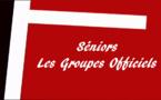Séniors. Les groupes officiels pour la saison 2016-2017
