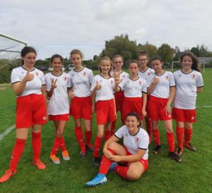 groupe U14 féminine