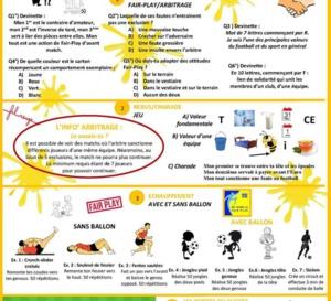 "PEF à domicile - Semaine ""Fair-Play"""