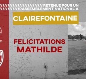 Mathilde MICETIC sélectionnée pour Clairefontaine