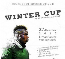 "U13 et U11. Tournoi en salle ""Winter Cup"""